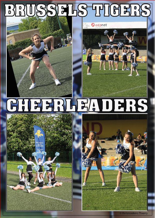 Brussels Tigers Cheerleaders